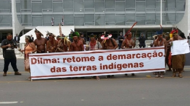 protesto planalto
