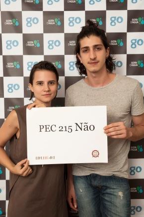 Reunião Gota, Bianca Comparato e Johnny Massaro