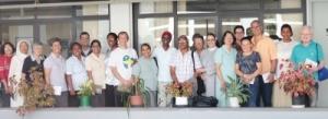 Um grupo de missionários, que participa dos cursos de formação no Centro Cultural Missionário (CCM) em Brasília (DF), visitou a sede da Conferência Nacional dos Bispos do Brasil (CNBB) / Foto: CNBB