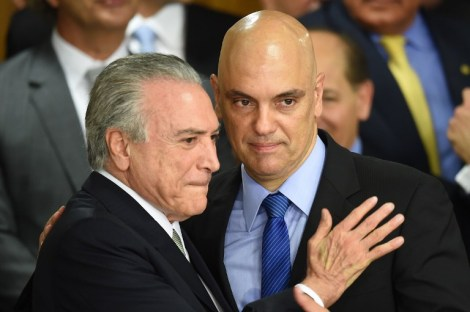 BRAZIL-TEMER-MINISTERS-INAUGURATION